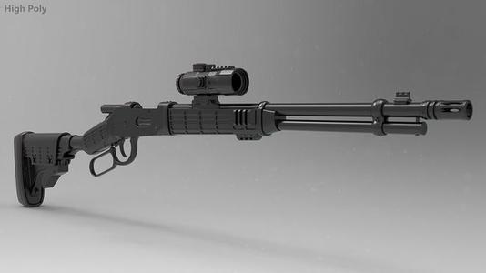 464spx介绍 穿越火线里的464SPX现实里有这把枪吗,求详细资料
